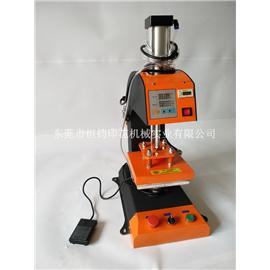 气动单工位标签机气压烫唛机气动烫标机单工位烫画机