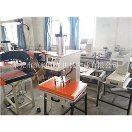 恒钧气动单工位烫画机60*40cm 石画压烫机纺织品热转印机厂家直销