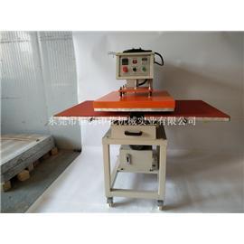 全自动液压双工位烫图机 恒钧液压烫画机60*80cm t恤烫画机 布料压烫机