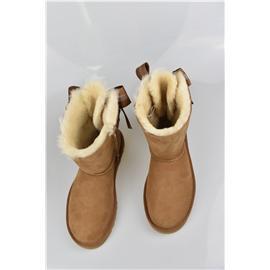媌莎澳洲羊皮毛一体雪地靴M1098075