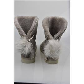 媌莎澳洲羊皮毛一体雪地靴M1095717
