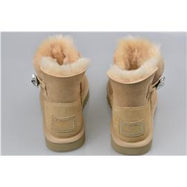媌莎澳洲羊皮毛一体雪地靴M1003899