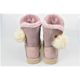 媌莎澳洲羊皮毛一体雪地靴m1017502