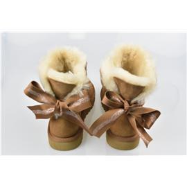 媌莎澳洲羊皮毛一体雪地靴M1100212