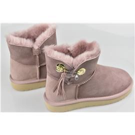 媌莎澳洲羊皮毛一体雪地靴M1019627
