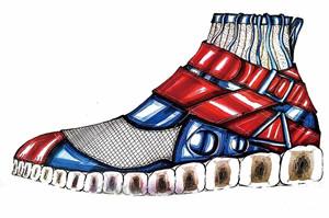 【男鞋创意设计】创意坊 | 优秀设计手稿推介