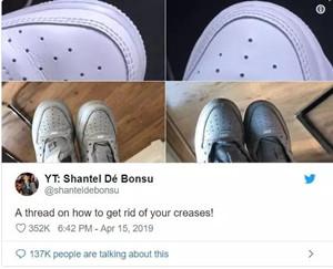 【鞋面护理】鞋面出現折痕?这里有招办法很有效