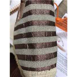 葱丝+棉纱△编织布
