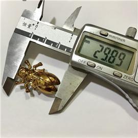 昆虫形状五金配件 厂家直销大知了昆虫 箱包皮具配件  30mm