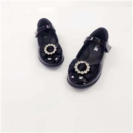 2019新款上市时尚女童公主皮鞋儿童单鞋