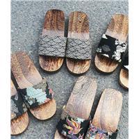 木屐,木拖鞋,人字拖图片