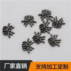 厂家批发 小蜘蛛铆钉 塑胶面+铁底钉 服饰箱包配件 加工定制 15.28mm