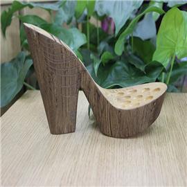 厚鞋底,喷漆木纹 01