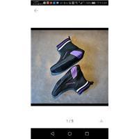 童鞋飞织图片