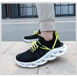 HYBER|弧減震飛織慢跑鞋
