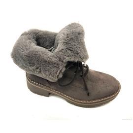 时尚女靴  新款加绒保暖厚底女鞋