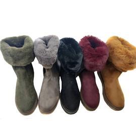 时尚女靴 秋冬女鞋 内绒保暖靴