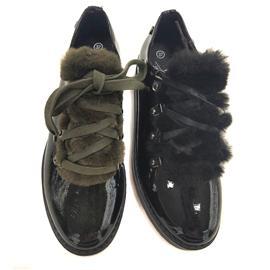 时尚休闲皮鞋 休闲百搭 绑带加绒皮鞋