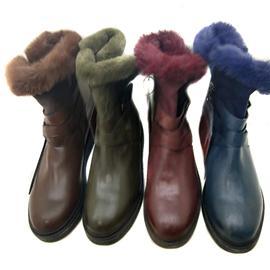 时尚女靴 冬季加绒女鞋