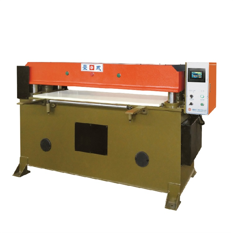 精密四柱液压裁断机|台威机械