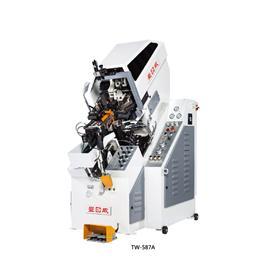 全自动九爪油压前帮机-587|台威机械