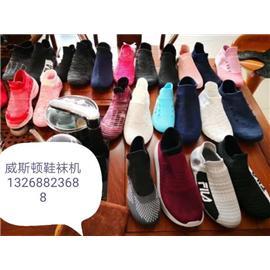 一體成型飛織鞋襪機圖片