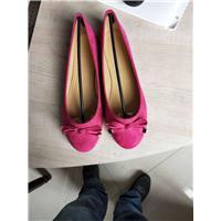 工厂全年生产女单鞋出口非洲及东南亚国家图片