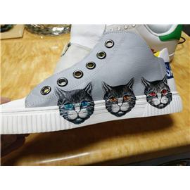 鞋材鞋面皮革工艺UV打印机