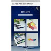 鞋材鞋面UV高喷打印机设备图片
