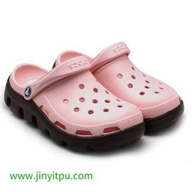 TPU洞洞鞋料|TPU材料|金宜塑胶