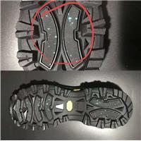 鞋底冰上止滑片特殊功能玻璃纤维冰上耐寒止滑橡胶片图片
