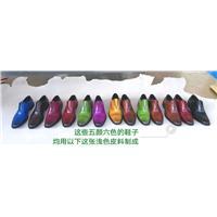 新絲路Deep Dye黃牛皮圖片