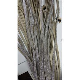 烫金+沿条麻绳编织