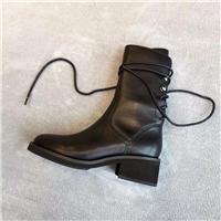 ANN杨幂明星同款马丁靴机车靴图片