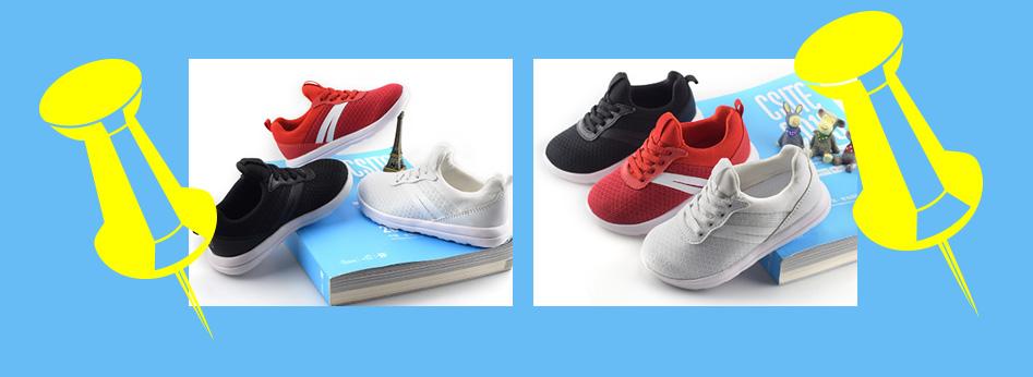 【KB1905】新款潮流童鞋,透气网布设计,舒服内里,奔跑整个童年!