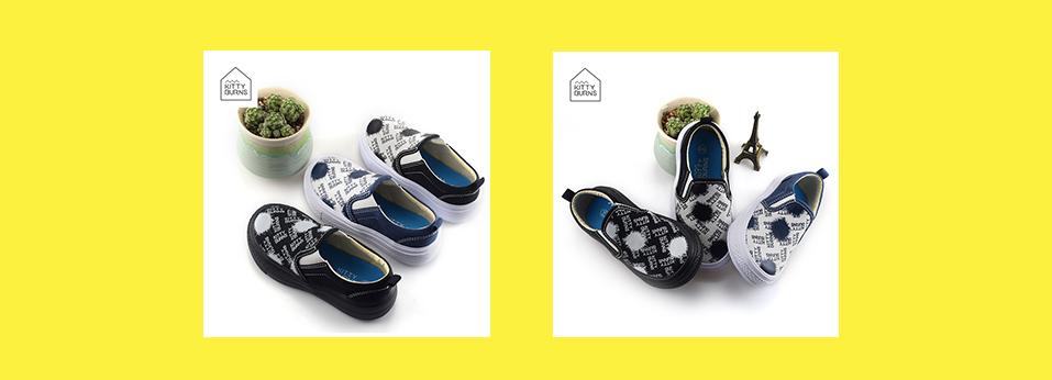 【KB-1902】松紧带设计,一脚蹬,EVA大底,穿着舒适,专属宝宝的活力运动鞋!