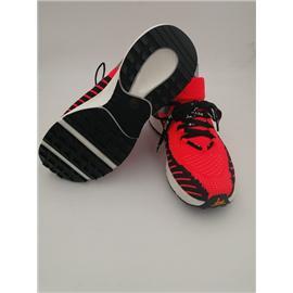 HPW01荧光红/黑3D纺织精品跑鞋图片