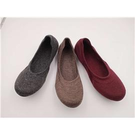 PM1008女式3D羊毛跳舞休闲鞋图片