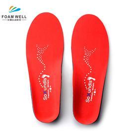 足底筋膜炎平足高足弓支撑矫形鞋垫PU泡沫EVA鞋垫