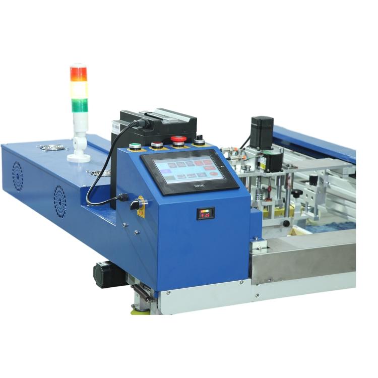 全自动走台印刷机工作原理