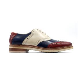 HC-L010生肖开运鞋/28星宿庇护鞋/量子按摩功能复古休闲男士皮鞋|航驰科技