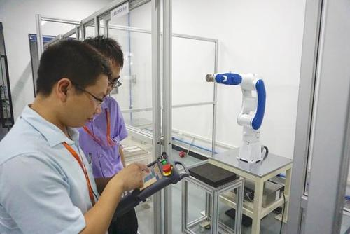 The future trend of human computer interaction of industrial robots
