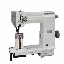 TTY-9920 Double needle post bed lockstitch heavy duty sewing machine With wheel feed needle feed
