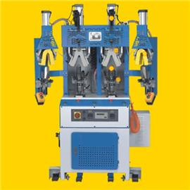Gt-802 cold and hot heel shaping machine