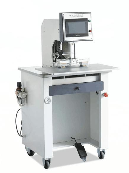 YL-8875 单头双工位烫标机  商标转印机 烫金机
