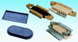 强式压底机配件 包括强式压底机的各种胶块  热转印机 橡胶大底打粗机