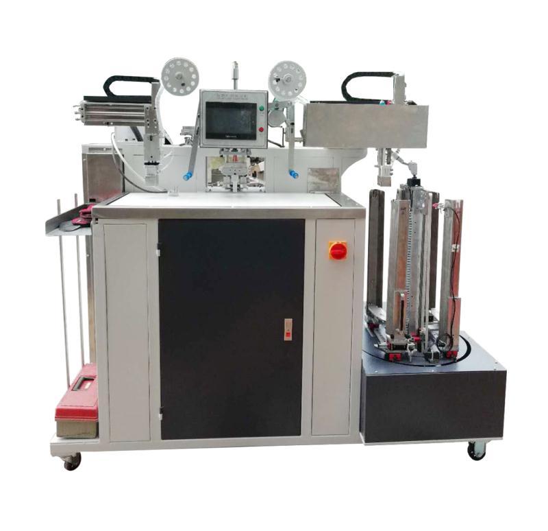 YL8909-流水线鞋垫全自动转印机  商标转印机  热转印机