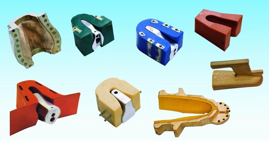专业生产各式各样的后踵定型模 烫金机 商标转印机