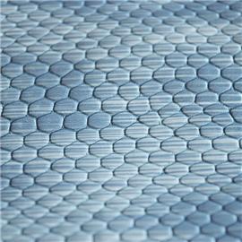 双祥18年新款-蛇麟纹湿剂固化雨丝纹印刷PU