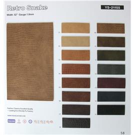 Animal pattern   ys-21155   Yishang leather